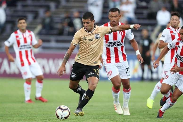 Santos igualó a cero contra River Montevideo. EFE