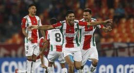 El cuadro chileno sacó un valioso empate de Córdoba. EFE