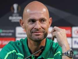 Marcel Keizer fez a análise do duelo entre Sporting e Porto da final da Taça de Portugal. EFE