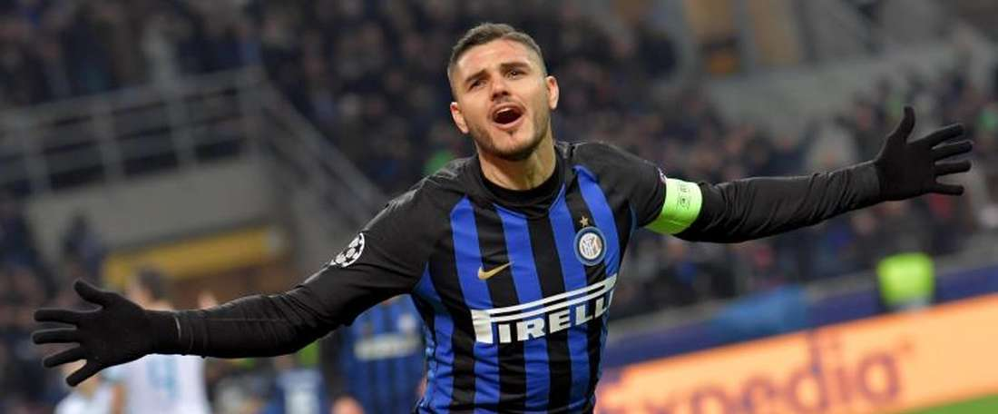 Icardi's departure from Inter Milan appears imminent. EFE