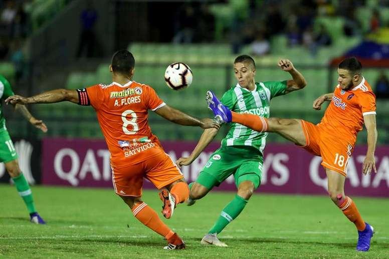 Nacional ganó 0-1 la ida a La Guaira. EFE/Archivo
