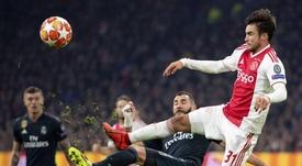 El 'favor' de la Eredivisie al Ajax para la vuelta ante el Madrid. EFE