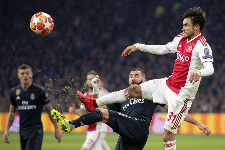 Benzema no se descarta para la Liga. EFE