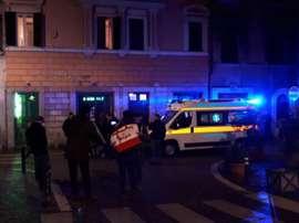 Incidentes en Roma. EFE
