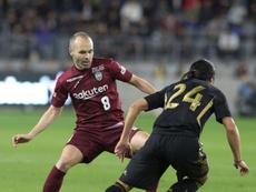 Vuelve el fútbol para los dos españoles en Japón. EFE