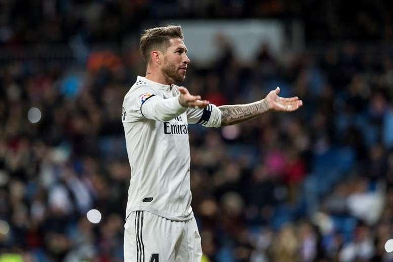 Ramos ganaría 35 millones por temporada en China. EFE/Archivo