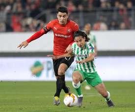Le Betis ne désespère pas et est confiant en Diego Lainez. EFE