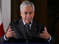Sebastián Piñera anunció la candidatura conjunta de Chile. EFE/Archivo