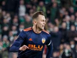 Cheryshev ficha por el Valencia. EFE