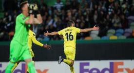 El Villarreal salió victorioso de Lisboa. EFE/Archivo