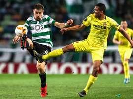 Villarreal e Sporting lutam por um lugar nos oitavos da Liga Europa. EFE