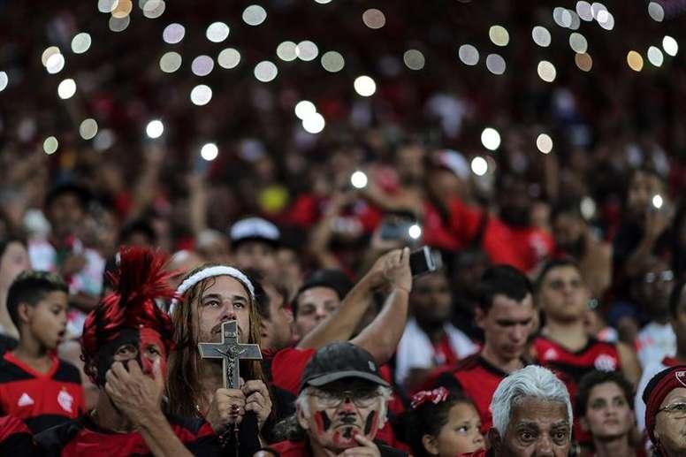 La condena que tendrá que cumplir Flamengo por los incendios. EFE
