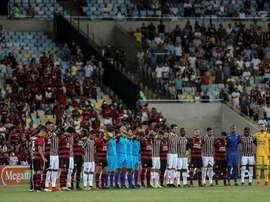 Flamengo e FLuminense defrontam-se para o campeonato carioca. EFE