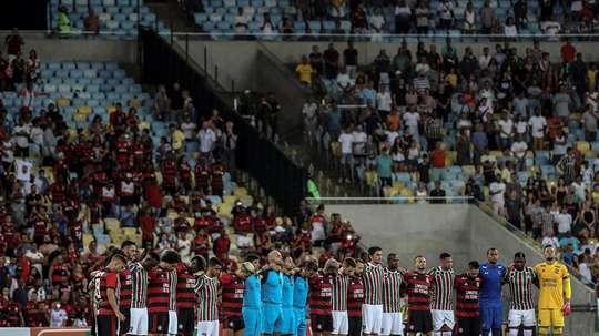 Prováveis escalações de Flamengo e Fluminense. EFE