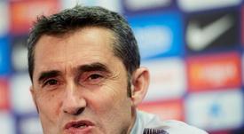 Valverde a défendu Luis Suarez. EFE