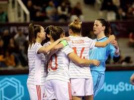 España está en la final de la Eurocopa. EFE