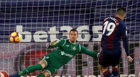 El Getafe anulará la compra del Sevilla por David Soria. EFE
