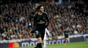 Rabiot has not played for PSG in months. EFE
