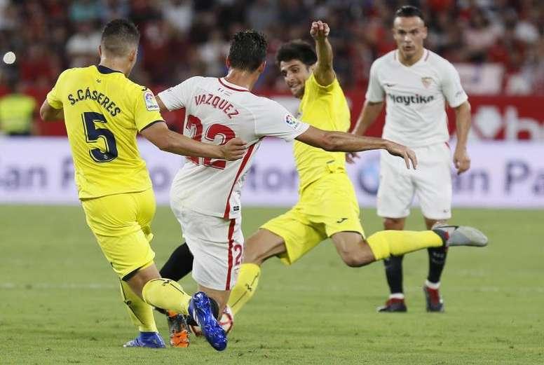El último enfrentamiento entre ambos en el Pizjuán se saldó con un 0-0. EFE