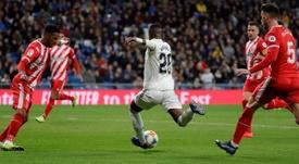 Madrid y Girona ya han jugado tres veces esta temporada. EFE