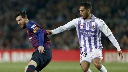 O Barça venceu com o golo de Messi. EFE