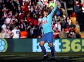 Griezmann veut continuer à faire l'histoire avec l'Atlético. EFE