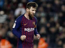 Messi n'a peur de personne. EFE