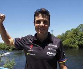 El triatleta Javier Gómez Noya. EFE/Archivo
