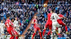 Il Real Madrid perde in casa contro il Girona. EFE