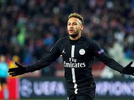 Neymar pasará 10 días en Brasil. EFE