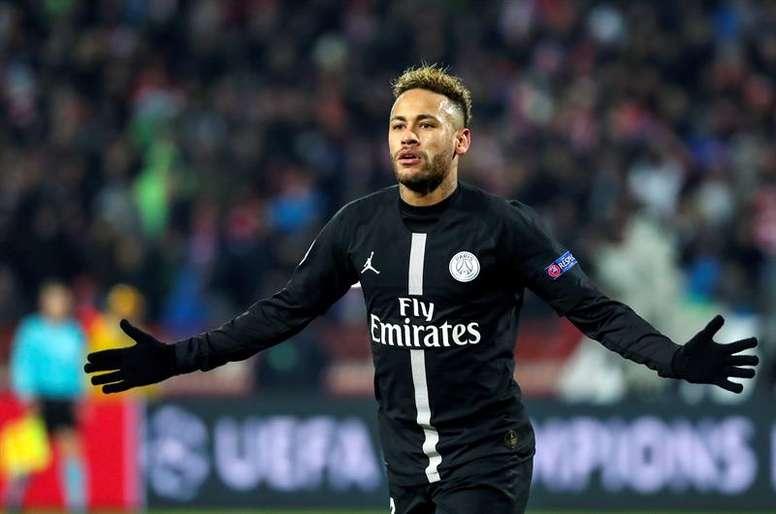 Neymar volverá a vestirse de corto con el PSG. EFE
