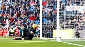 El Girona asaltó el Bernabéu. EFE