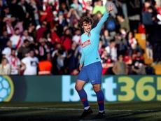 Ha dado 130 goles al Atlético desde que llegó. EFE