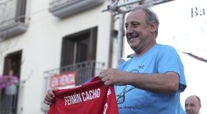 Fermín Cacho, atleta español durante un homenaje. EFE/Archivo
