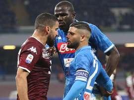 El Torino le hizo un gran favor a sus vecinos de la Juve. EFE/EPA