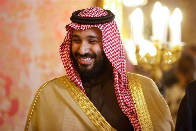 El príncipe de Arabia Saudí habló sobre la Supercopa. EFE