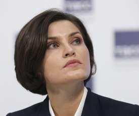 La atleta rusa de salto de altura Anna Chicherova. EFE/Archivo