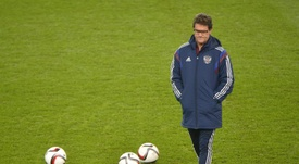 Capello claims Three Lions have mental block. EFE