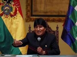 Evo Morales celebró el fichaje de Gálvez como un hito nacional. EFE/Archivo