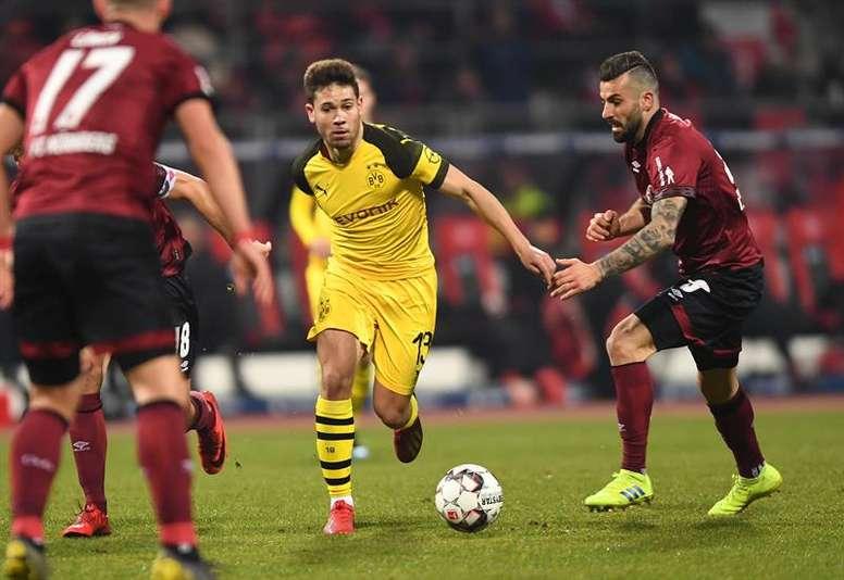 Guerreiro est proche de quitter Dortmund. EFE