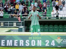 Emerson a fait ses débuts avec le Betis face à Rennes. EFE