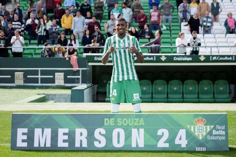 Emerson debutó ante el Rennes. EFE