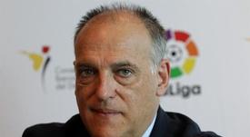 El presidente de la Liga habló del Mundial. EFE