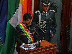 Evo Morales anunció las intenciones de Bolivia. EFE/Archivo