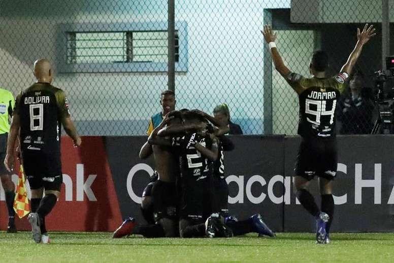 Independiente Chorrera, a la final de Panamá sudando de lo lindo. EFE