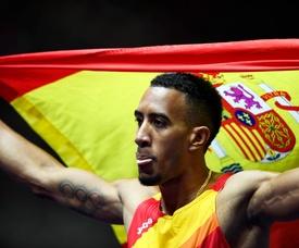 El atleta español Orlando Ortega. EFE/Archivo