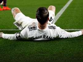 Ramos no estará ante el Levante. EFE/Archivo