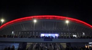 Seis peñas de León animarán a su Atlético en el choque contra la Cultural. EFE