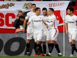 Sevilla, Valencia y Villarreal ya conocen sus rivales. EFE