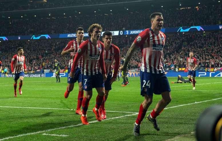 El Atleti volverá a jugar la Champions League. EFE